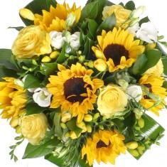 Букет цветов «Солнышко»