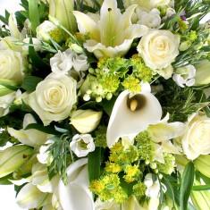 Букет цветов «Белая леди»