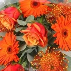 Букет цветов «Orange juice»