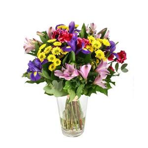 Букет цветов «Мозайка»