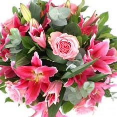 Букет цветов «Розовая мечта»