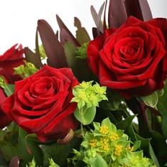 Букет с розами «Венера»