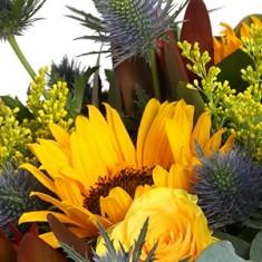 Эксклюзивный букет цветов «Осенний поцелуй»