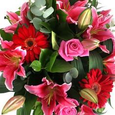 Оригинальный букет цветов «Эдем»