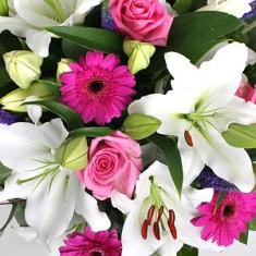 Букет цветов «Летняя ночь»
