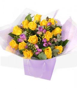 Великолепный букет цветов «Лунная соната»