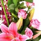 Красивый букет цветов «Богиня»