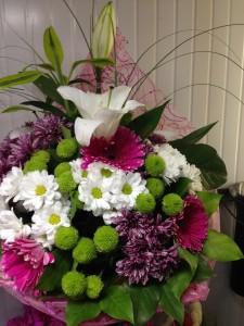 Букет цветов «Сильвия»
