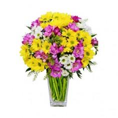 Букет цветов «Солнечное настроение»