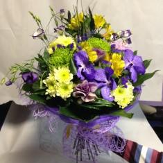 Букет цветов «Фламенко»