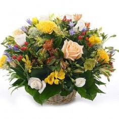 Цветы в корзине «Воспоминание»