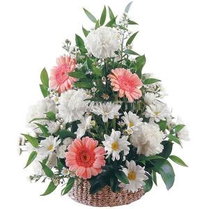 Цветы в корзине «Очарование»