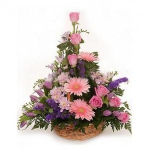 Корзина цветов «Чарующий»