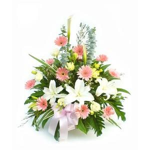 Цветочная корзина «Лучик»