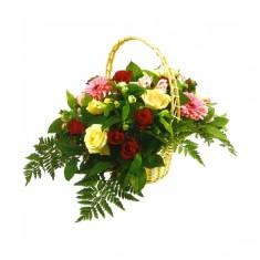 Корзина цветов «Чудо»