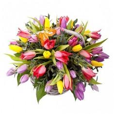 Корзина цветов «Вдохновение»