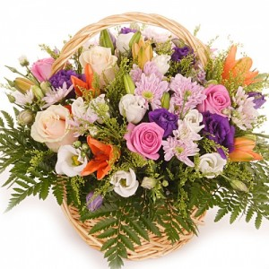 Корзина цветов «Мечта»
