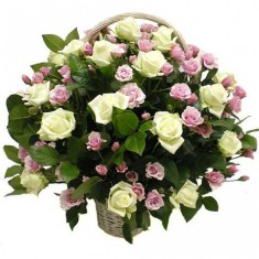 Корзина роз «Розалия»
