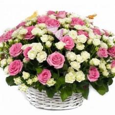 Корзина роз «Влюбленность»
