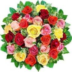 Букет из 31 розы «Розовый Микс»