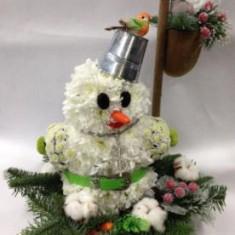 Букет «Снеговик»