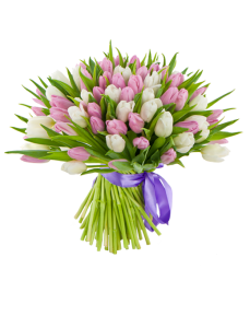 Букет из тюльпанов «Начало весны»
