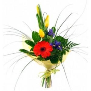 Изящный букет цветов «Салют»