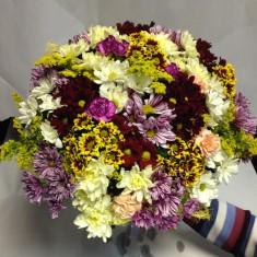 Букет цветов «Шоколадка»