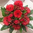 Букет цветов «Леди в красном»