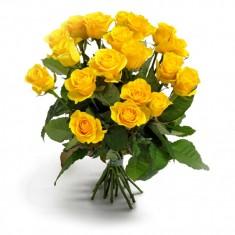 Роза желтая Эквадор