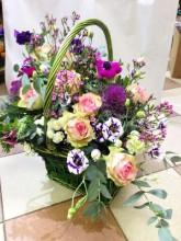 Корзина цветов «Праздник»