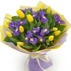 Букет цветов «Весеннее настроение»