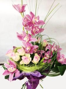 Букет цветов «Идеал»
