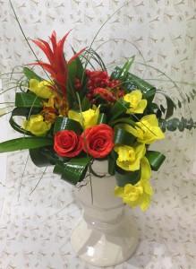 Букет цветов «Яркий»