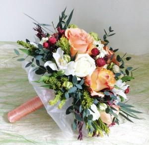 Свадебный букет невесте