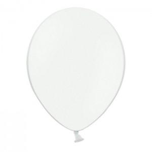 Белый гелиевый шарик 1 шт
