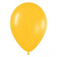 Желтый гелиевый шарик 1 шт