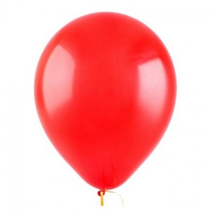 Красный гелиевый шарик 1 шт