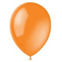 Оранжевый гелиевый шарик 1 шт