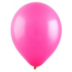Розовый гелиевый шарик 1 шт