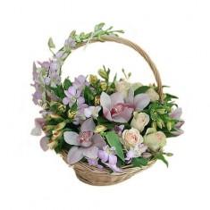 Корзина с цветами «Сказка»