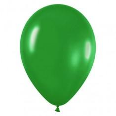 Зеленый гелиевый шарик 1 шт