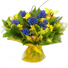 Букет цветов «Аромат весны»