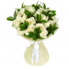 Букет цветов «Белая ночь»