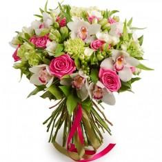 Букет цветов «Хрустальная корона»