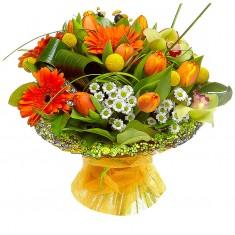 Букет цветов «Краски лета»