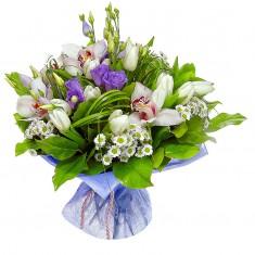 Букет цветов «Нежная мелодия»