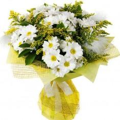 Букет цветов «Ромашковое счастье»