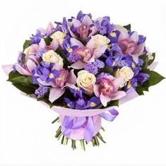Букет цветов «Сиреневый туман»