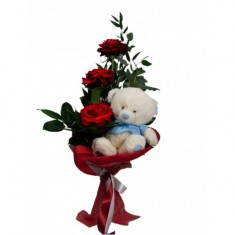 Букет цветов «Стильный сюрприз»
